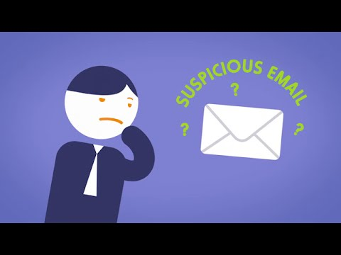 Identify and handle suspicious email