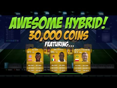 FIFA 14 - Awesome Overpowered 30k Hybrid Team | Squad Builder #27