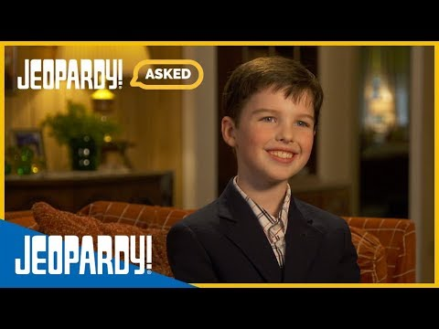 We Asked: Iain Armitage | Jeopardy.com