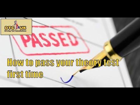 How to Pass Your Theory Test First Time | DTC-UK | Driving Test UK