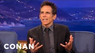 Ben Stiller Recently Came Out As A Miserable Vegan Conan On Tbs