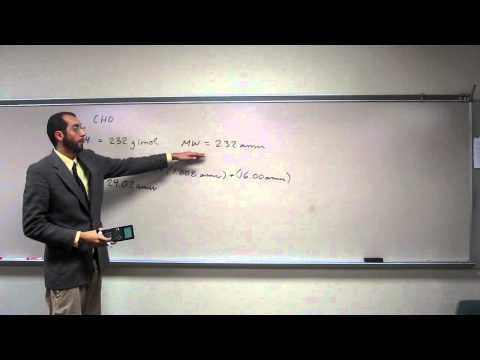 Determining Molecular Formula From Empirical Formula and Molar Mass 001