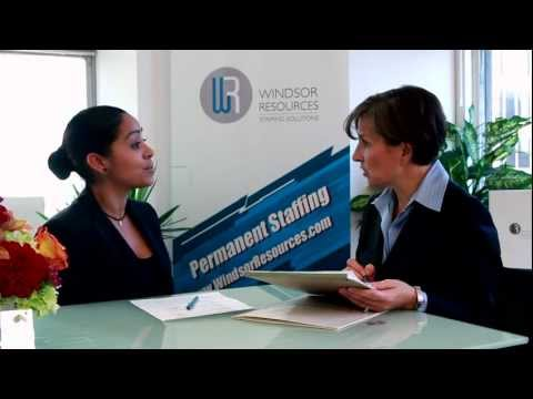 Windsor Resources - Temp Perm Staffing Recruiting in New York City and Stamford CT