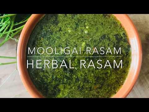 herbal rasam | mooligai rasam recipe | with mudakathan & thoothuvalai