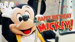 Mickey's Birthday Trip Around the World 2016 | Happy Birthday Mickey
