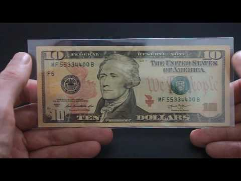 Dollar Fancy Serial Number Repeater and Quad Double Note