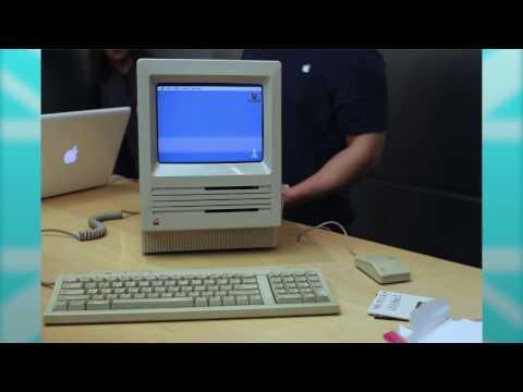 Apple get a 30 year old Mac SE Running