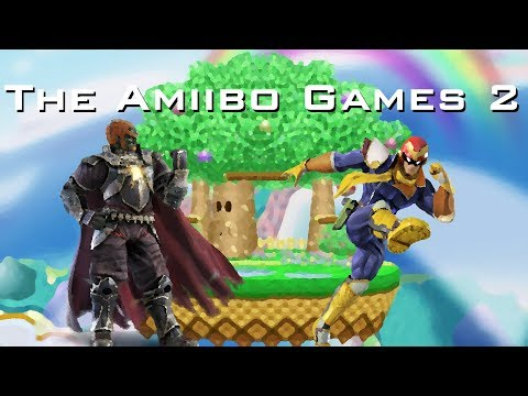 The Amiibo Games 2 - Round 3 Set 4   Evil King (Ganondorf) vs. One Punch (Cpt. Falcon)
