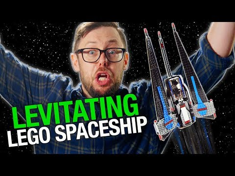 How to Make a Levitating LEGO Star Wars Spaceship– Beyond The Instructions