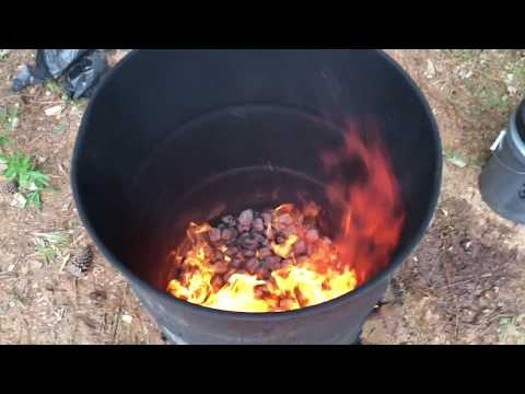 The fastest and easiest way to burn large tree stumps (and small). *updated*