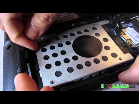 How to Remove Hard Disk Drive - Acer 4752G Gaming Notebook