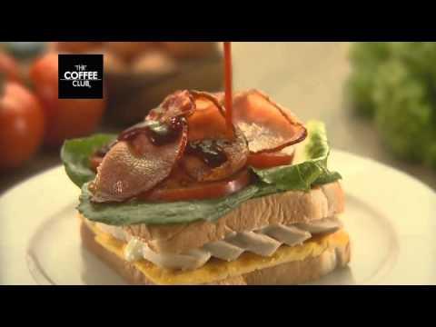 The Coffee Club NZ Chicken Club Sandwich
