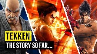 Tekken | Complete Story Breakdown | Mishima Blood Feud | Tekken 1 – 7