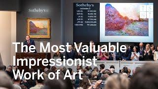 1107 Million Monet Shatters Auction Records