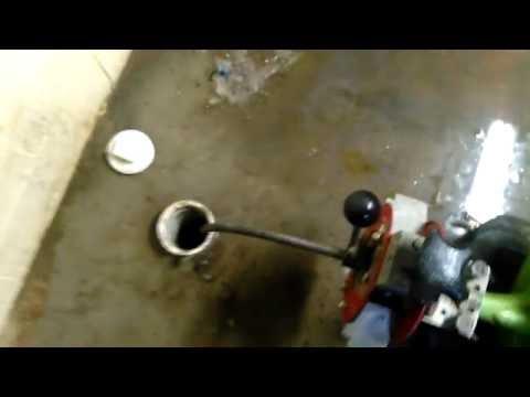 Clogged Basement Draining - Sewage Waste on Floor