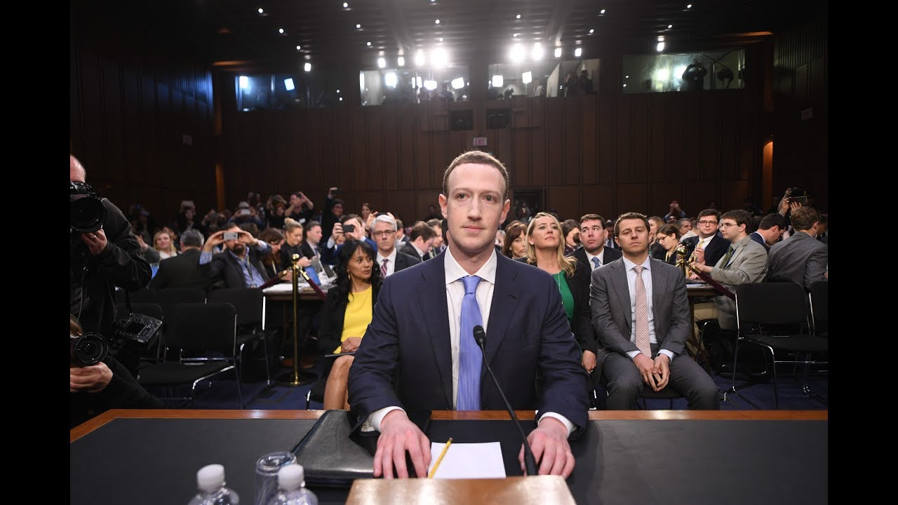Mark Zuckerberg testifies before Congress - watch live