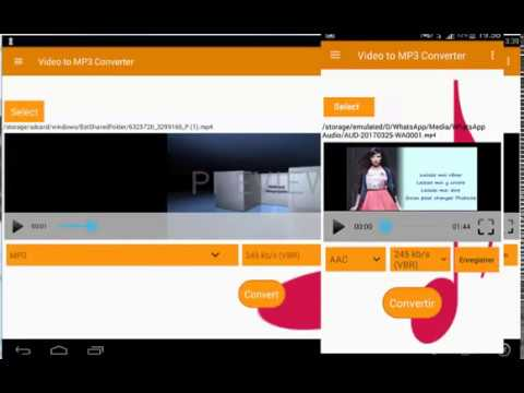 MP3 Video Converter - App Android