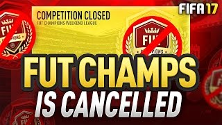 FUT CHAMPS IS CANCELLED! - NEWS / UPDATE on REWARDS