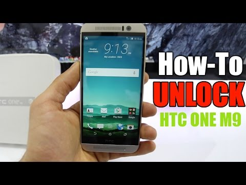 How To Unlock HTC One M9 - AT&T / T-mobile / Rogers / Vodafone / O2/ etc...