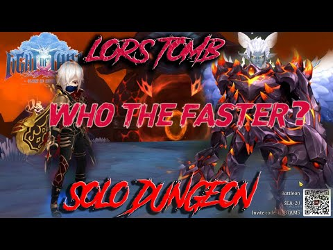 SOLO DG LOR'S TOMB HEROIC SHADOW ASSASIN VS ROSEN KNIGHT LIGHT OF THEL. WHO THE FASTER?
