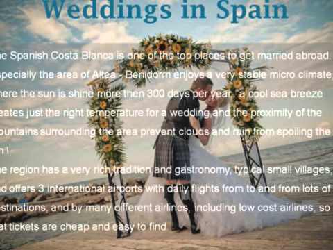 Wedding Venue Spain, www weddingsinspain eu