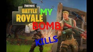 TOP 5 my bomb kills in Fortnite