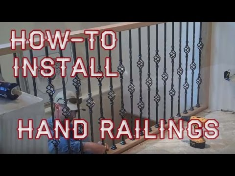 How-to Install Balcony Hand Railings