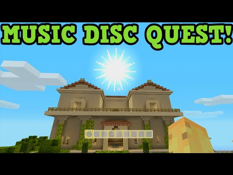 Minecraft Xbox One / PS4 Greek Mashup Pack MUSIC DISC QUEST