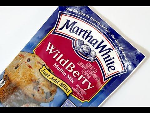 Martha White Wildberry Muffin mix