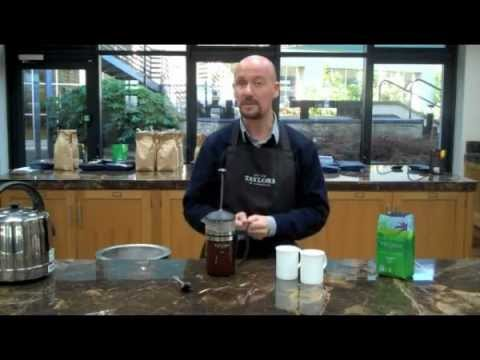 How to brew the perfect cafetière
