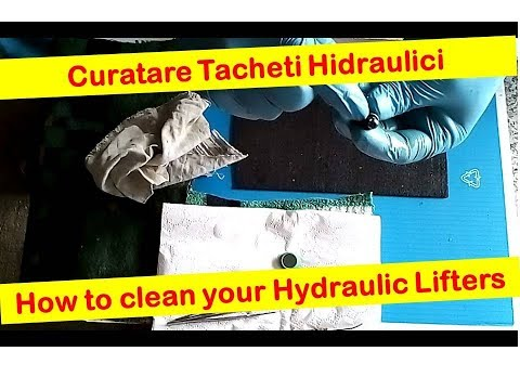 Curatare Tacheti Z12XE -- Clean your hydraulic lifters