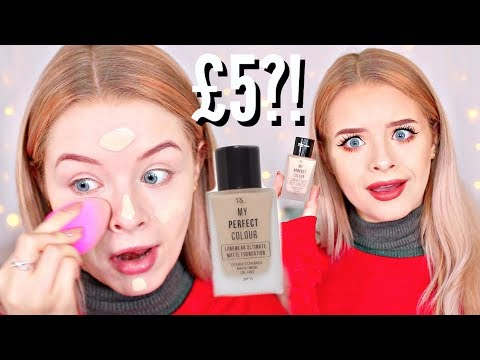 TESTING PRIMARK LONGWEAR MATTE FOUNDATION + 10 HOURS LATER! | sophdoesnails