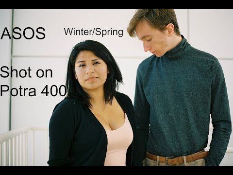 ASOS Winter/ Spring Try On + 35mm Outfit Shots on Potra 400