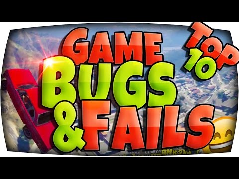 ^^ TOP 10 Game GLITCHES, BUGS & FAILS! xD ^^ | 😄 Funny Fails & Bugs Community Gaming Special | GTA