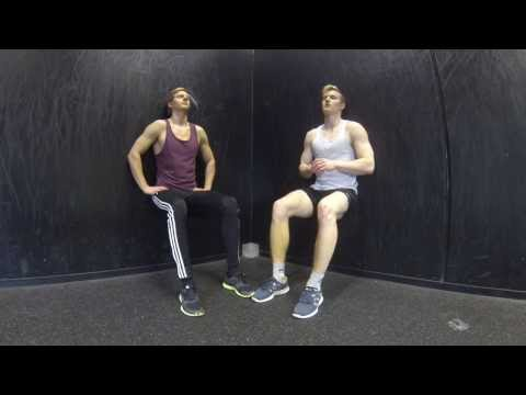 Wall-sit Challenge: 7 Minutes - Bodyweighted