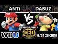 CEO 2016 Smash 4 - dT   Dabuz (Rosalina, Olimar) vs. dT   ANTi (Mario, Metaknight) Winners Finals