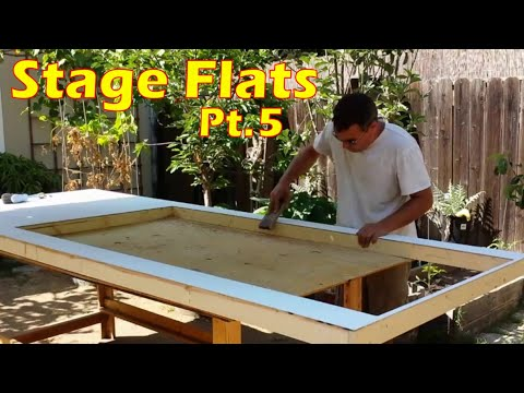 Building Wall Panels & Flats With Windows & Doors