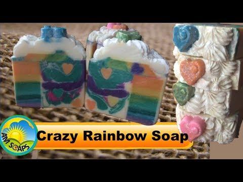 Crazy Rainbow Soap