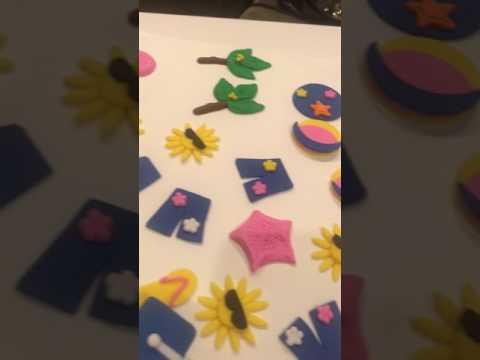 Custom Handmade Fondant Toppers for Cupcakes