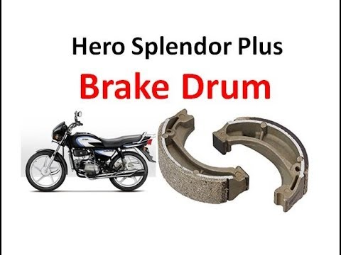 How to Replace Rear Drum Brake Shoe in Splendor Motor Cycle