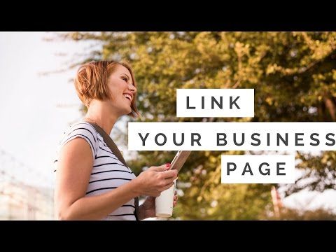 How to link your business page to your Personal Facebook profile
