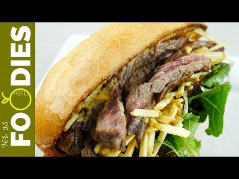 The Steak Sandwich Recipe YOU WILL LOVE!
