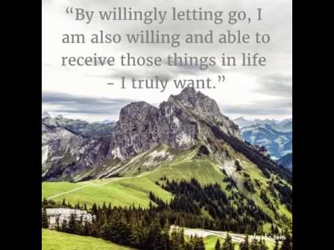 Fearlessly Letting Go - Daily Inspirational Quotes & Motivational Quotes for the Soul