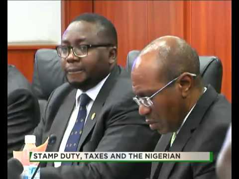 TVC BREAKFAST| TALK TIME|STAMP DUTY AND TAXES IN NIGERIA PART 1