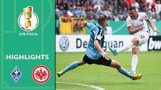 Rebic hattrick in comeback win | Mannheim vs. Frankfurt 3-5 | Highlights | DFB-Pokal | 1st Round