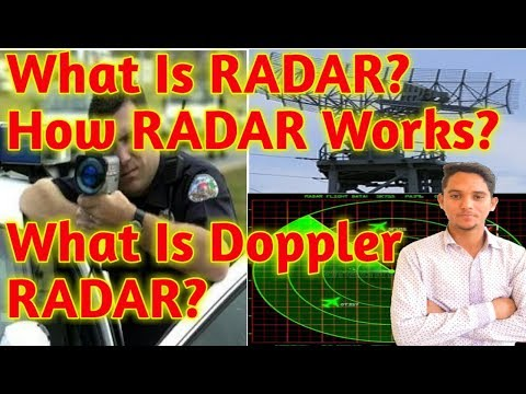 (Hindi)What is RADAR?How RADAR Works?What is Doppler RADAR?How Police Calculating Distance and Speed