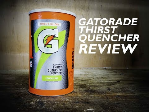 Gatorade Thirst Quencher Review   Pinned TV