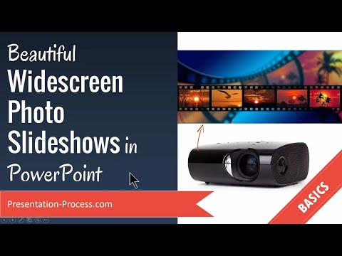 Beautiful Widescreen Photo Slideshows in PowerPoint