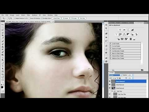 Sharpening in Photoshop CS5 - Noise Reduction