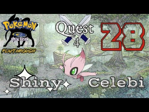 Pokémon Crystal Playthrough - Hunt for the Pink Onion! #28